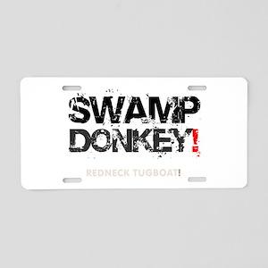 SWAMP DONKEY - REDNECK TUGB Aluminum License Plate