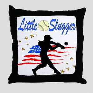 SOFTBALL STAR Throw Pillow