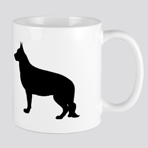 German Shepherd Two 2 Mugs