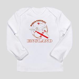 England UK world football socc Long Sleeve T-Shirt