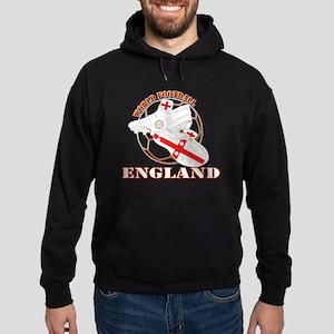 England UK world football soccer Hoodie (dark)