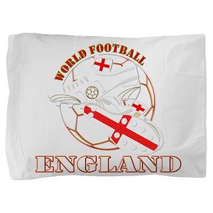 England UK world football soccer Pillow Sham