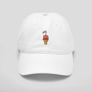 Flamingo in Ice Cream Cap