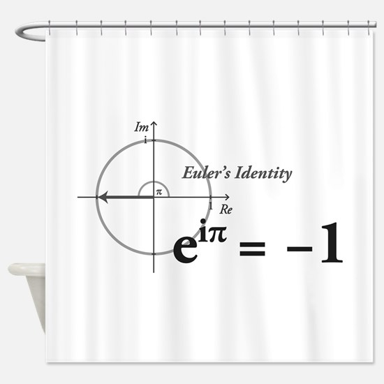 Unique Math Shower Curtain