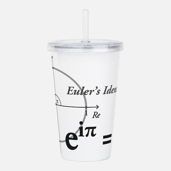 Funny Mathematics Acrylic Double-wall Tumbler
