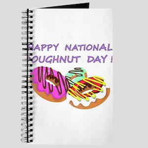 Happy Doughnuts Day Journal