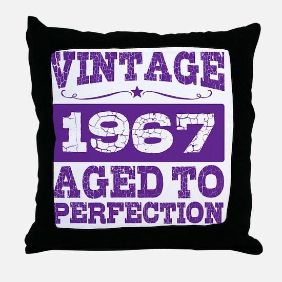 Funny 1967 pontiac gto Throw Pillow