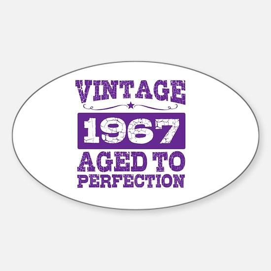 Cute 1967 Sticker (Oval)