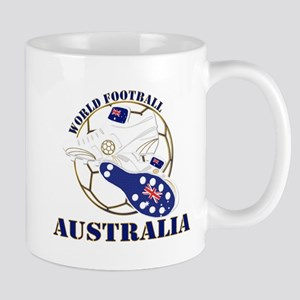 Australia world football soccer Mugs