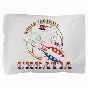 Croatia world football soccer Pillow Sham