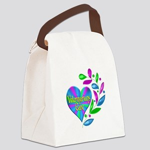 Veterinarians Care Canvas Lunch Bag