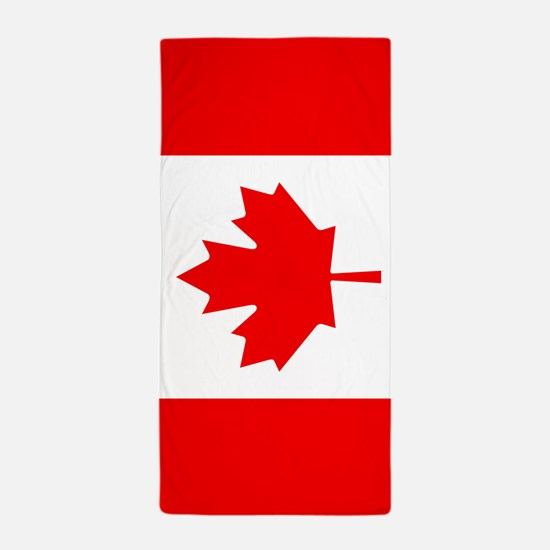 Canada Flag Beach Towel