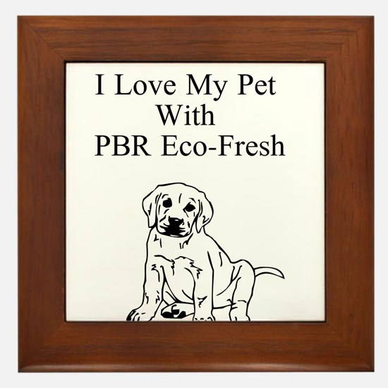 Love Your Pet With PBR Eco-Fresh Framed Tile