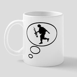 Thinking of Soldier Mug