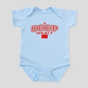 CCCP Soviet Hockey S Infant Bodysuit