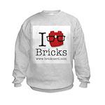 I Nerd Bricks Sweatshirt
