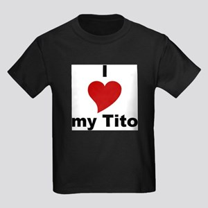 I Love My Tito Kids T-Shirt