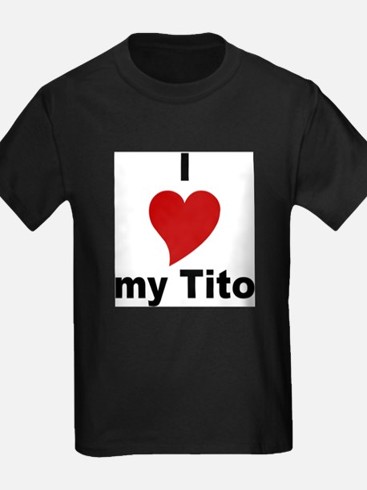 I Love My Tito Kids T-Shirt