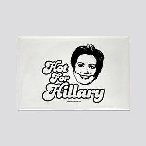 Hot for Hillary Rectangle Magnet
