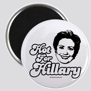 Hot for Hillary Magnet