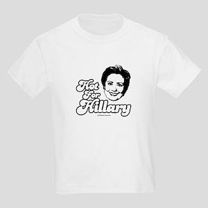 Hot for Hillary Kids Light T-Shirt