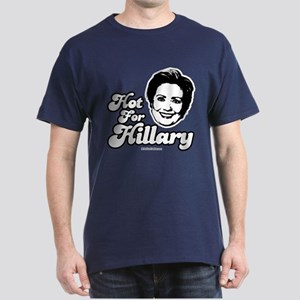 Hot for Hillary Dark T-Shirt