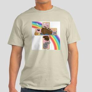 Pink Noah's Cross Light T-Shirt