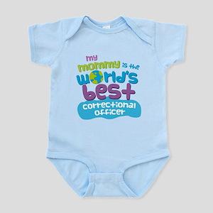 Correctional Officer Gift for Kids Infant Bodysuit