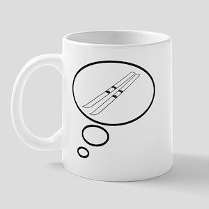 Thinking of Skiing Mug