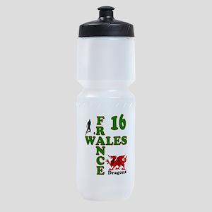 Wales France Dragons 16 Sports Bottle