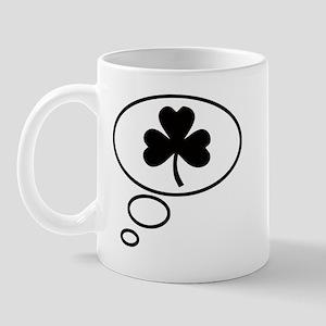Thinking of Shamrock Mug