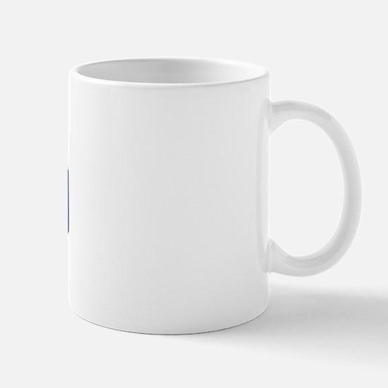 MADRID design (blue) Mug