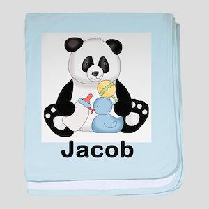 Jacob's Little Panda baby blanket