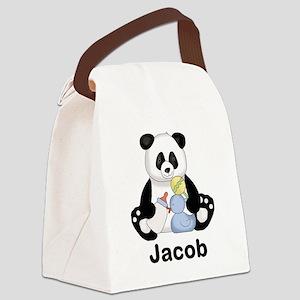 Jacob's Little Panda Canvas Lunch Bag