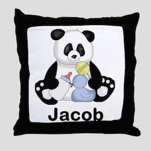 Jacob's Little Panda Throw Pillow