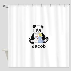 Jacob's Little Panda Shower Curtain