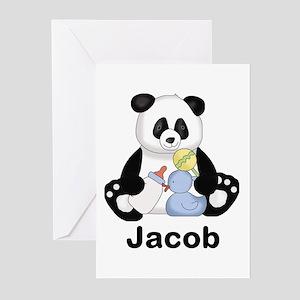 Jacob's Little Panda Greeting Cards (Pk of 20)