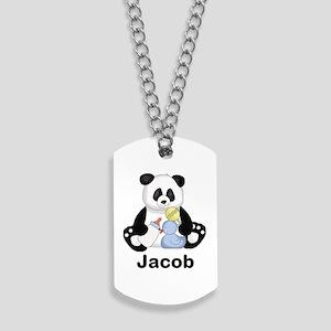 Jacob's Little Panda Dog Tags