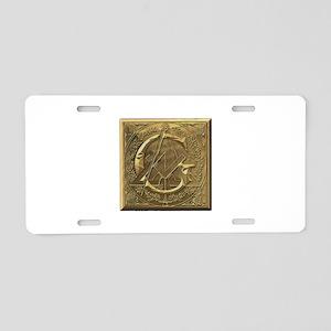Freemason Aluminum License Plate