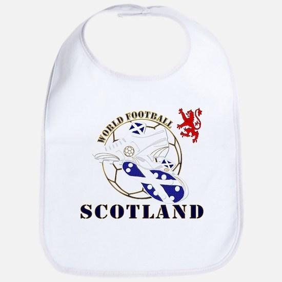 Scotland UK world football soccer Bib