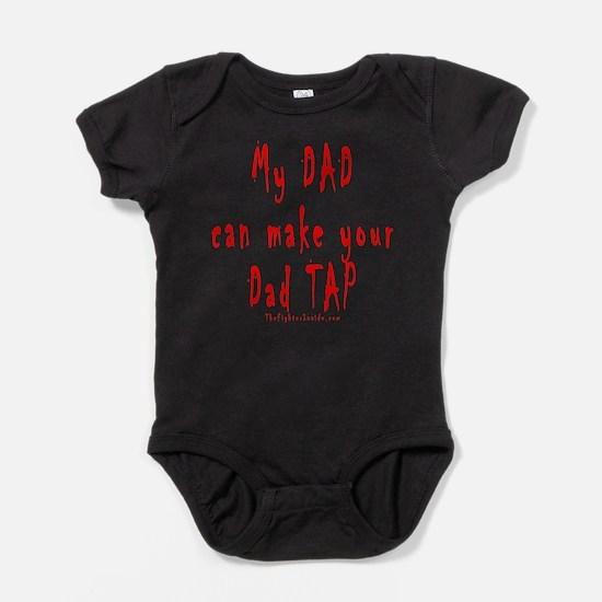 Cute Boxing dad Baby Bodysuit