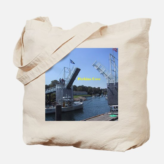 drawbridge in Perkins Cove of Ogunquit,Ma Tote Bag