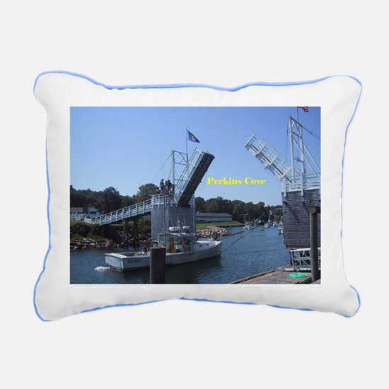 drawbridge in Perkins Co Rectangular Canvas Pillow