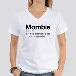 Mombie Women's V-Neck T-Shirt