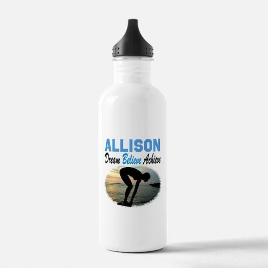 PERSONALIZE SWIMMER Water Bottle