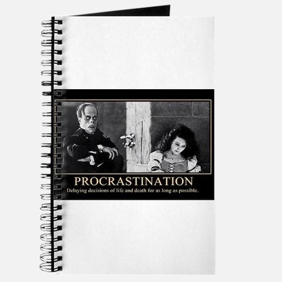 Procrastination ... Journal
