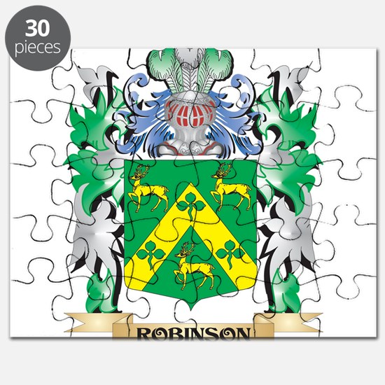Robinson Coat of Arms - Family Crest Puzzle