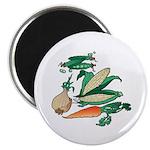 Nature Art Vegetable Design Magnet