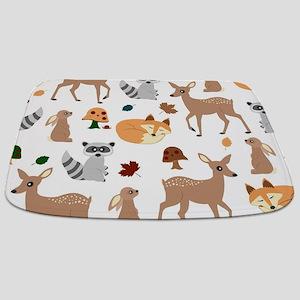 Woodland Creatures Bathmat