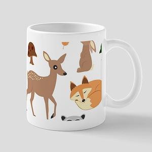 Woodland Creatures Mugs
